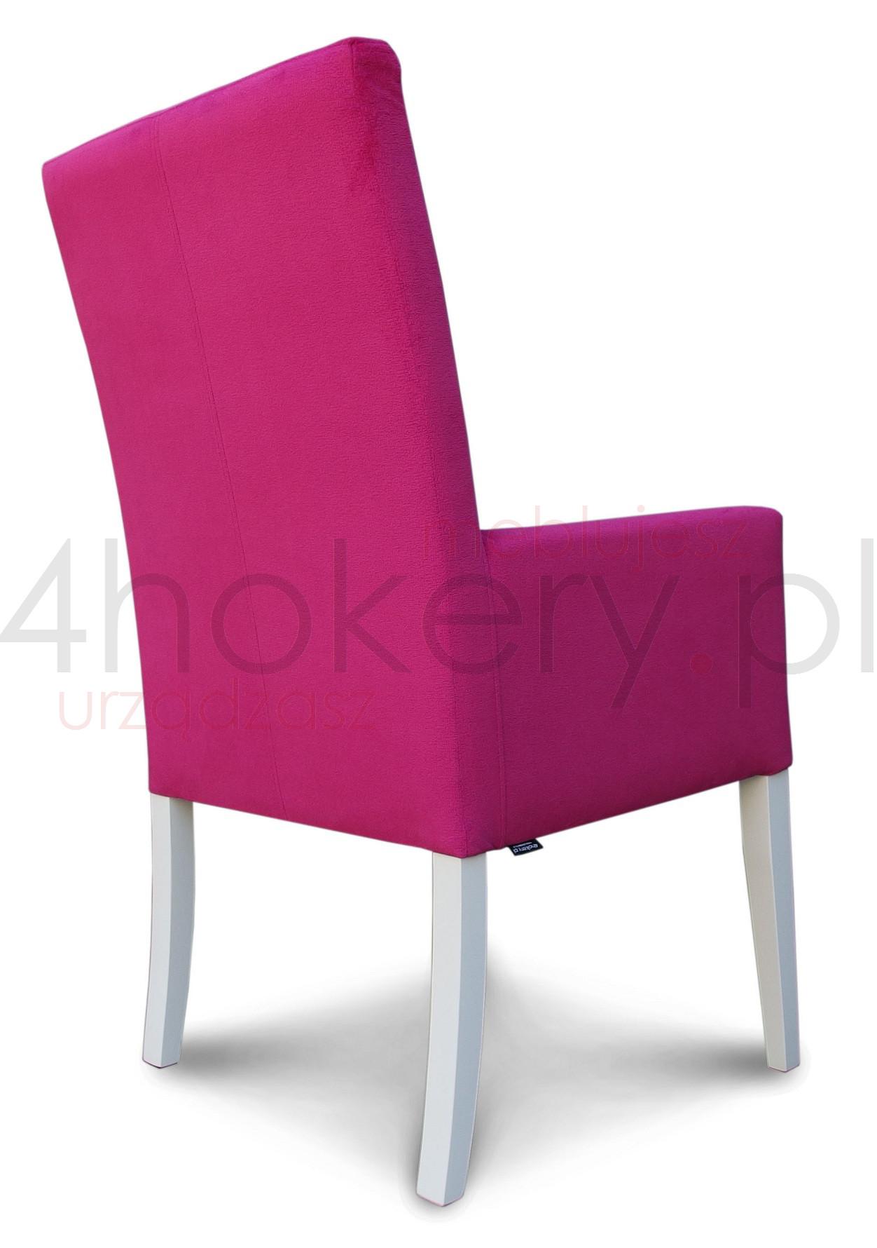 różowy-fotel-z-cyrkoniami-na-białych-prostych-nogach