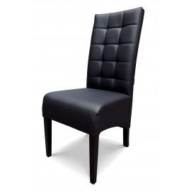 4H-OR85 - krzesło grube, skośne, pikowane w kwadraty. Wysokość 108cm.
