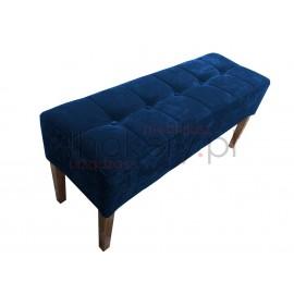 Pufa gruba / ławeczka do przedpokoju lub garderoby. Przeszywana kwadraty, pikowana kuzikami . Grubość siedziska 25cm