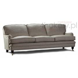 Sofa nierozkładana Alf - Meble prowansalskie - Kanapa 3 osobowa