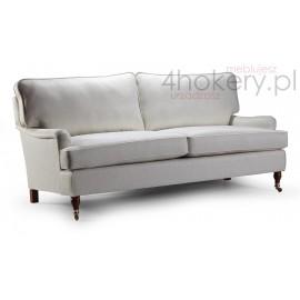 Sofa nierozkładana Ward - Meble prowansalskie - Kanapa 3 osobowa