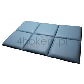 Eco-Soft / zagłówek elementowy, panele zaciągane na wymiar.
