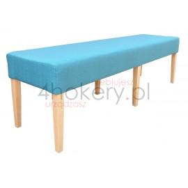 Pufa średnia / ławeczka do poczekalni lub na korytarz. Siedzisko gładkie . Grubość siedziska 15cm.