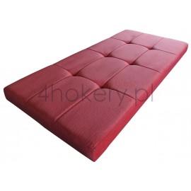 Sudan - siedzisko standardowe, kanciaste ze stebnówką, przeszywane w prostokąty, pikowane. Grubość 7cm.