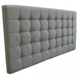 Eco-Soft / Zagłówek standardowy, kanciasty ze stebnówką, przeszywany w kwadraty i pikowany.