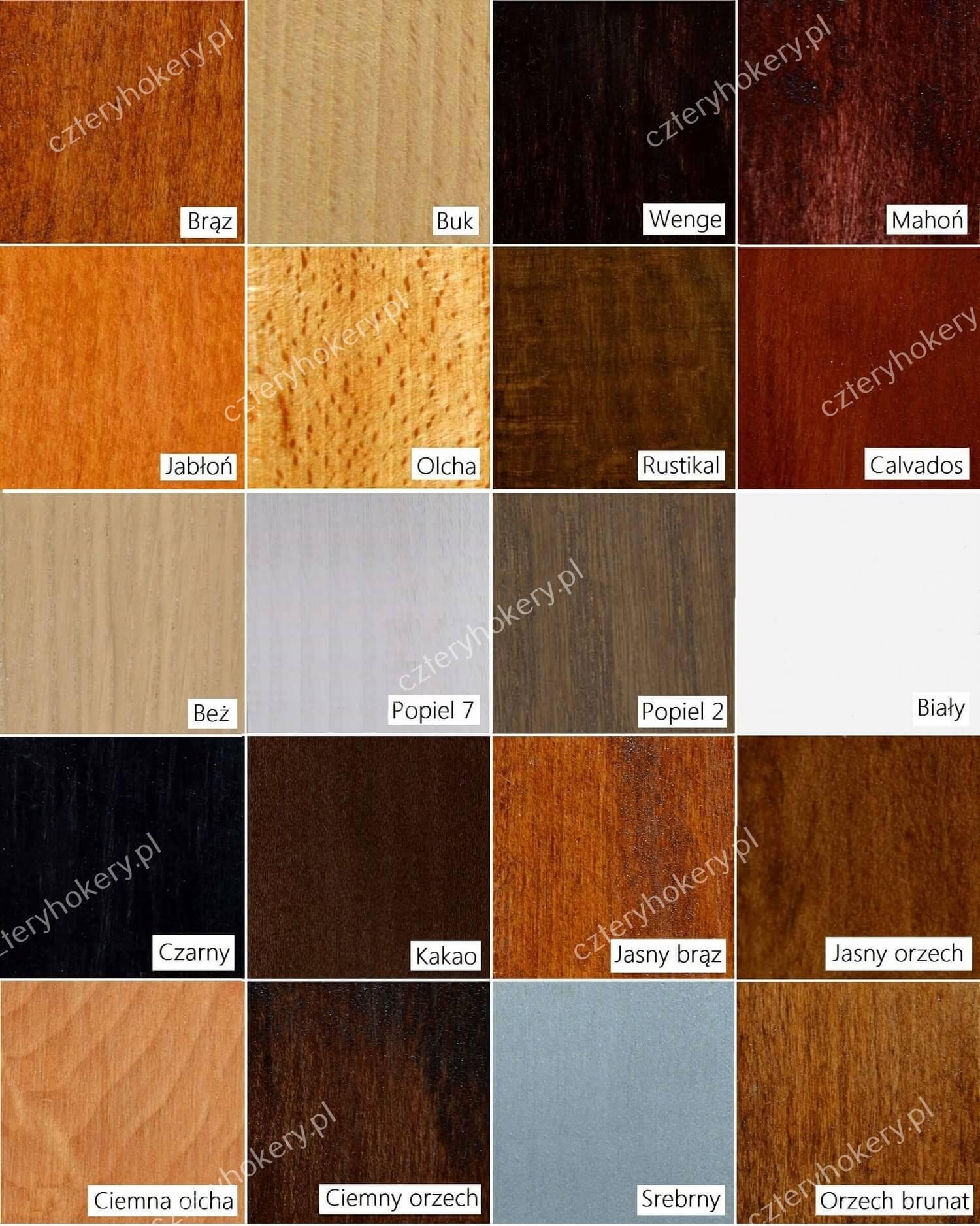 Wybarwienia drewna